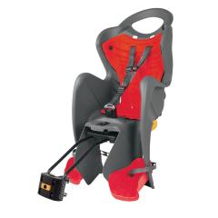 Dětská sedačka MR FOX STANDARD B-FIX zadní, šedá/červená