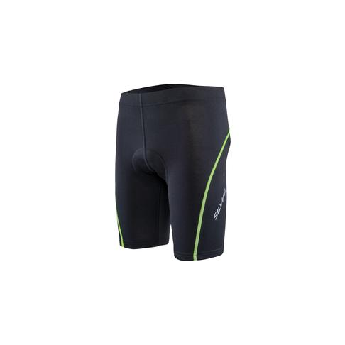 Silvini dětské cyklistické šortky, Avisio, black-neon