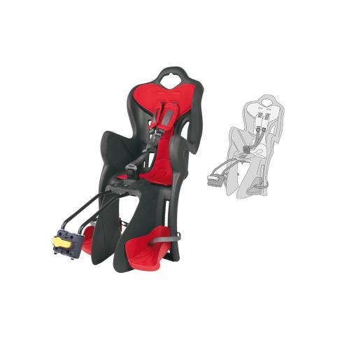Dětská sedačka B-ONE STANDARD zadní, šedá-červená