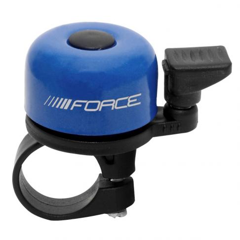 Zvonek FORCE MINI 22,2 mm, paličkový, modrý