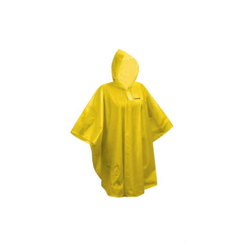 Dětské nepromokavé poncho FORCE, žluté XS - M