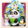 Krtek a Panda,oslava,puzzle,20