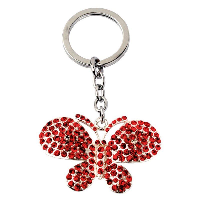 Přívěsek - motýl, červený