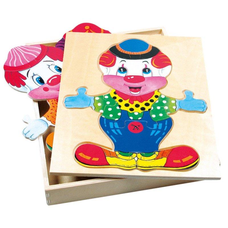 Šatní skříň velká - klaun