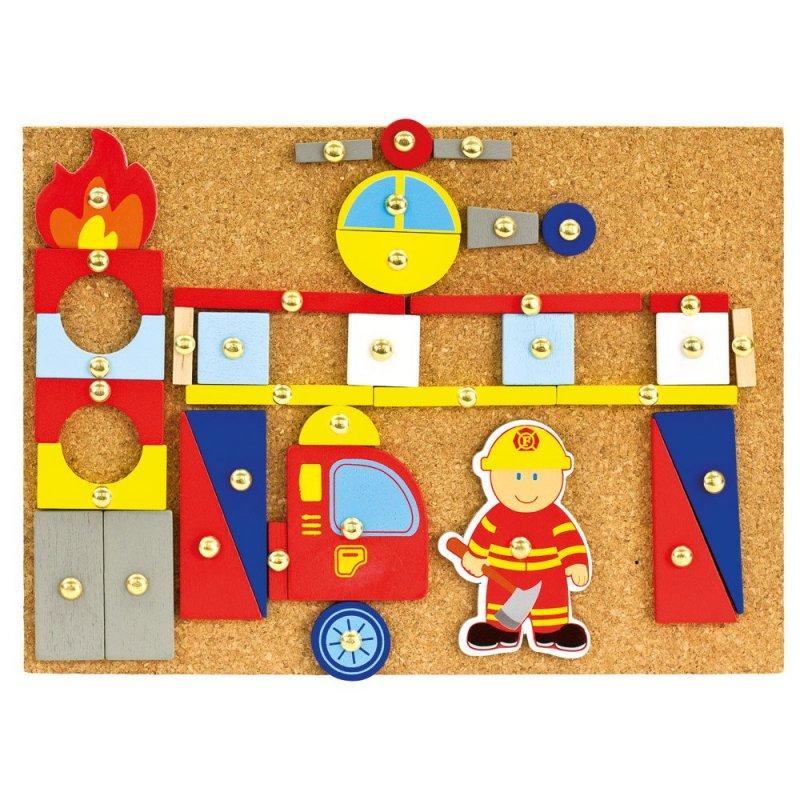 Hra s kladívkem hasiči