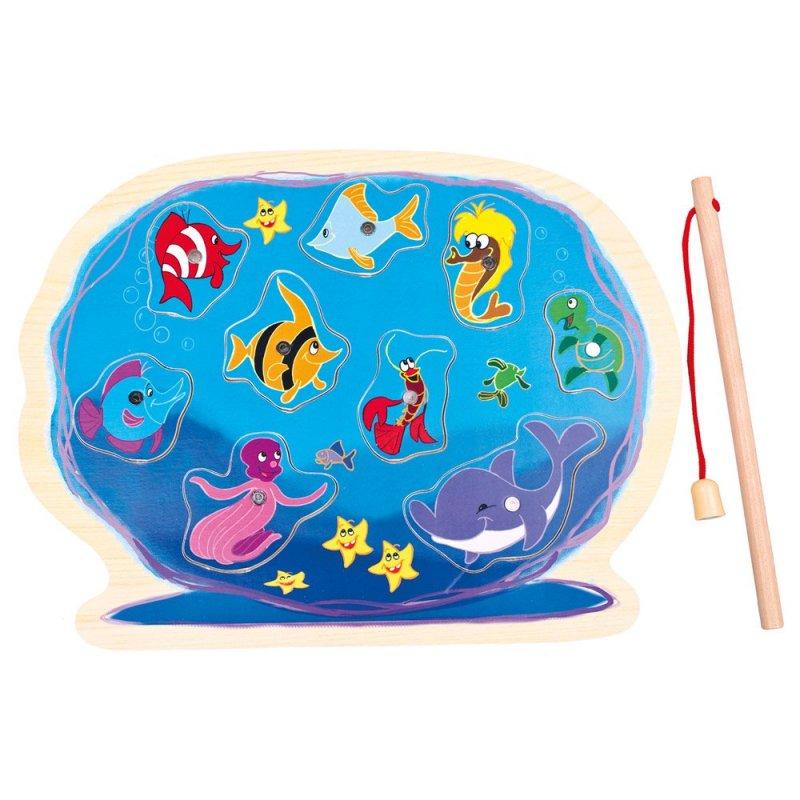 Puzzle akvárium s prutem
