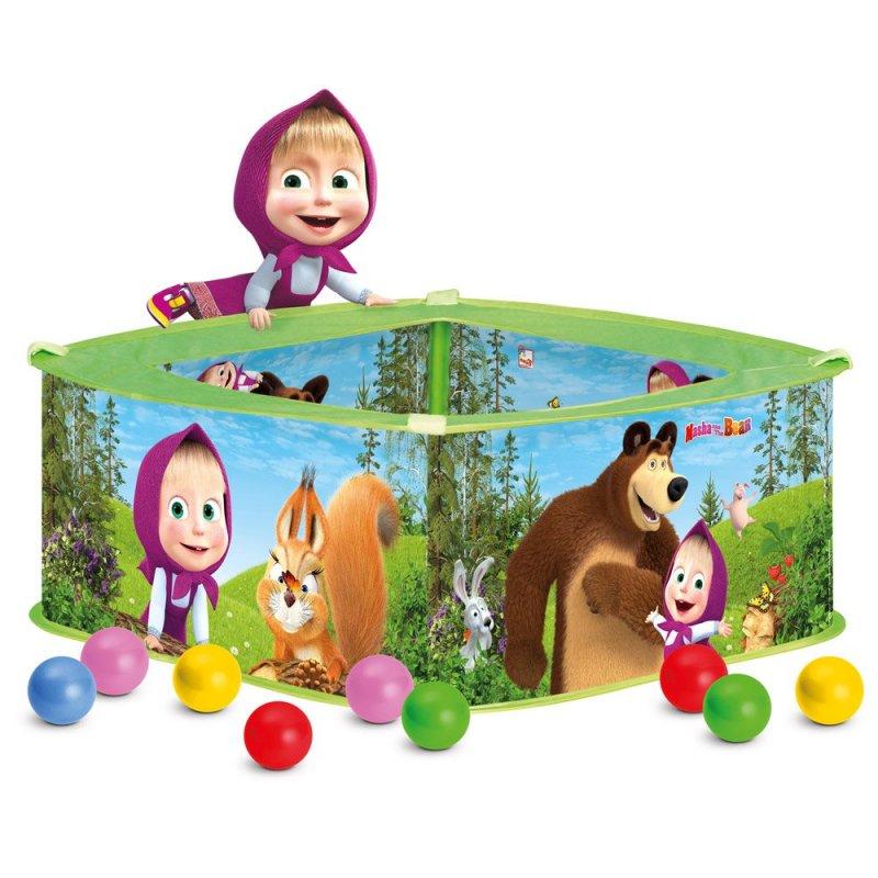Máša a Medvěd - Bazének s balónky