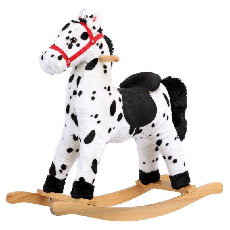 Houpací kůň, plyšový, Grošák
