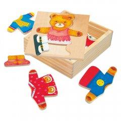 Puzzle-šatní skříň-medvědice