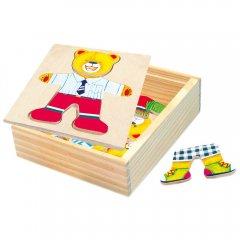 Puzzle-šatní skříň-medvídek