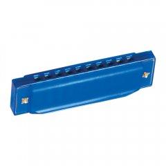 Foukací harmonika modrá