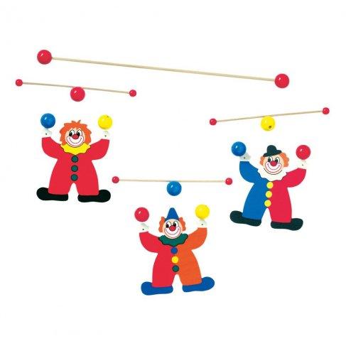 Závěsný kolotoč - žongléři