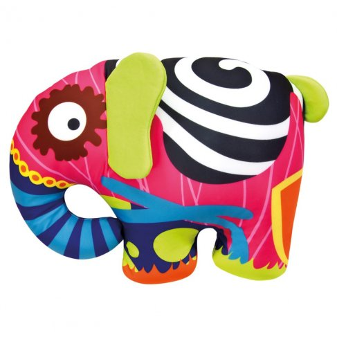 Barevný slon 39x30cm