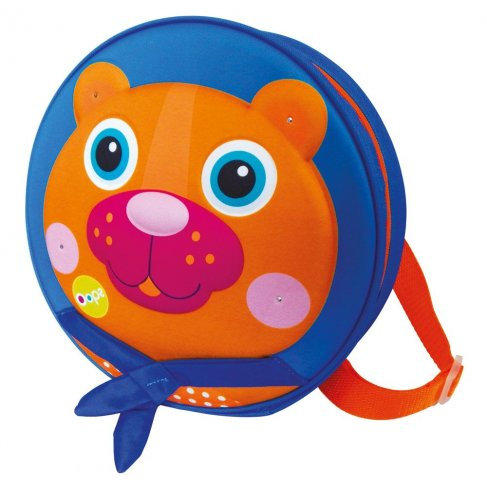 Kulatý batoh, medvěd
