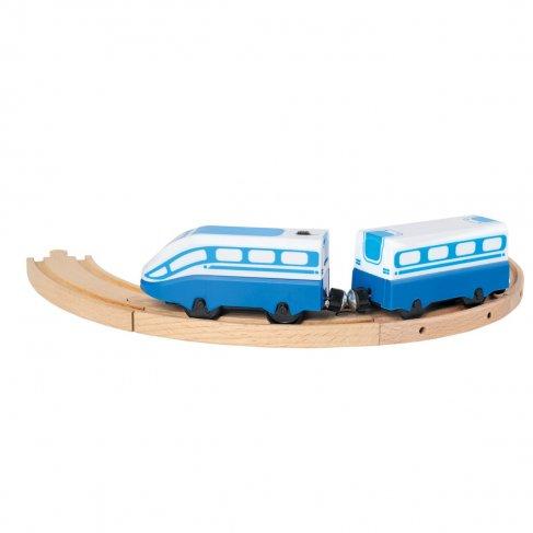 Modrý osobní vlak