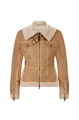 Dámská lyžařská kožená bunda Paige-L