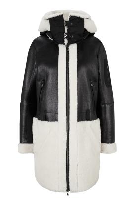 Dámský kožený kabát Sibel-L