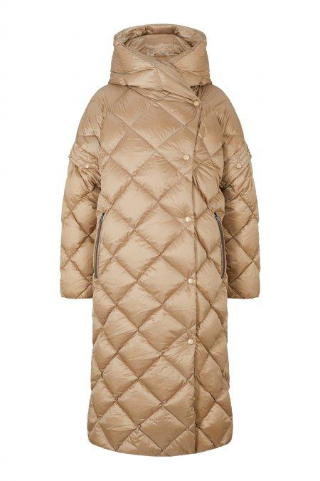 Dámský péřový kabát Lioba-D