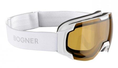 Lyžařské brýle Just B Polarized White
