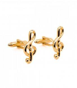 Manžetové knoflíčky houslový klíč
