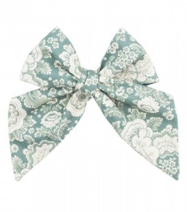 Blue ornament ladies tie