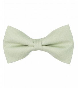 Mint self-tie bow tie