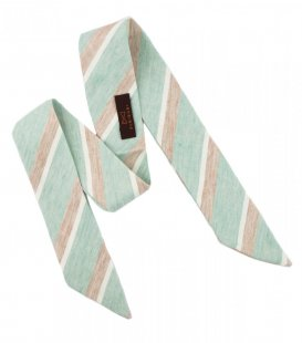 Mint beige ladies bow