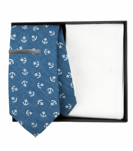 Nautical necktie set