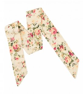 Cream rose ladies bow