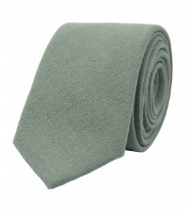 Zelená kravata Sage Green