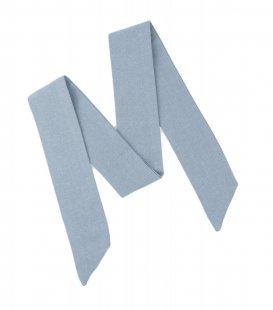 Modrá dámska mašľa Dusty Blue