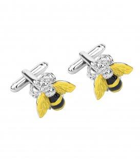 Manžetové gombíky včela