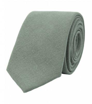 Solid Sage green necktie