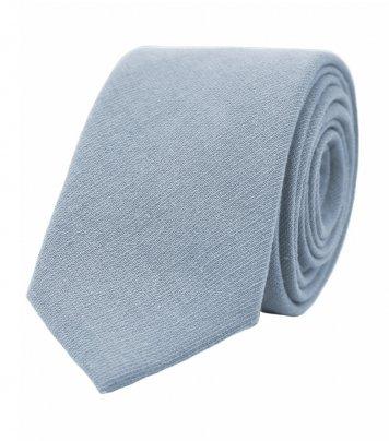 Solid Dusty Blue necktie