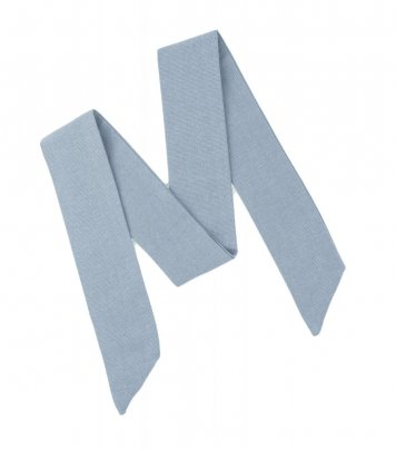 Solid Dusty Blue ladies bow