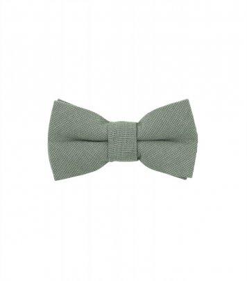 Solid Sage Green kids bow tie