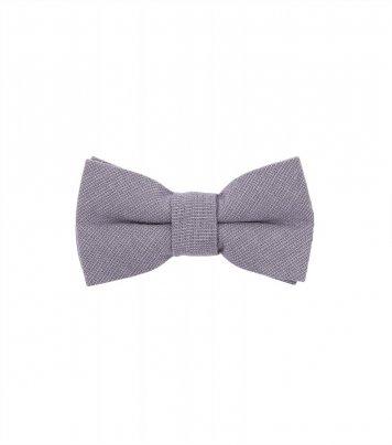 Solid Mauve kids bow tie