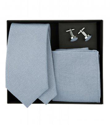 Dusty Blue necktie set