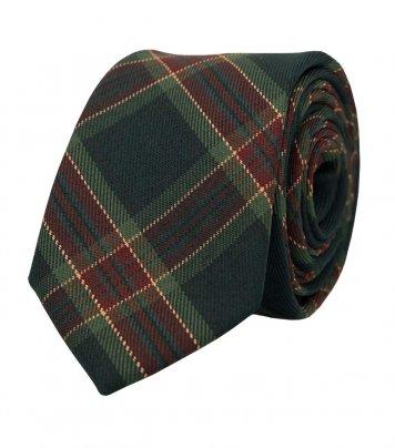 Christmas plaid necktie