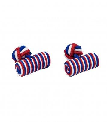 Tricolor cufflinks
