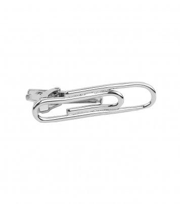 Paper clip tie bar