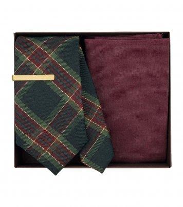Christmas necktie set