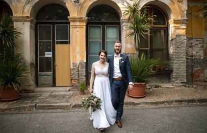 Svatba v pastelových tónech