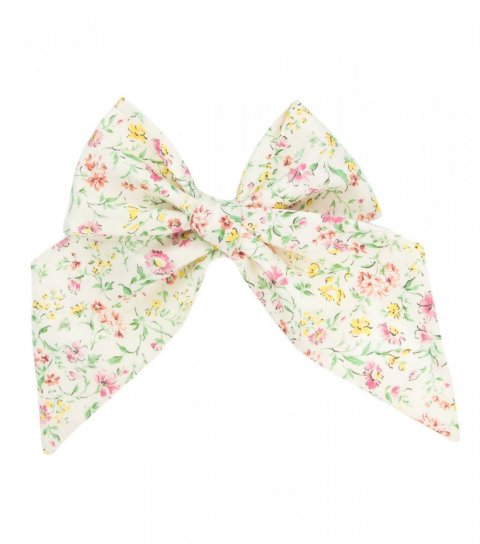 Cream floral ladies tie