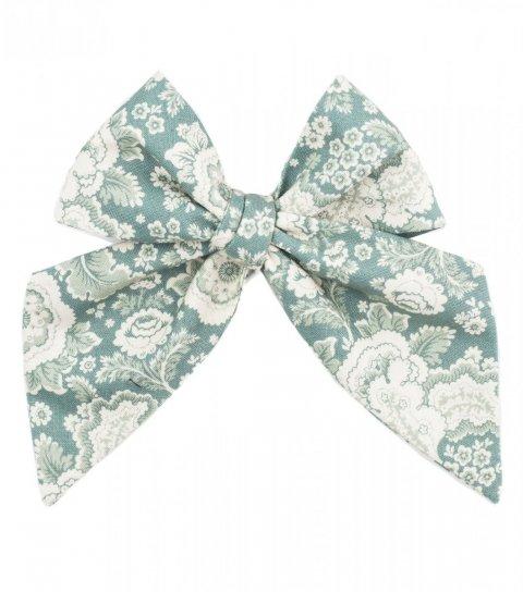 Blue ornament ladies tie