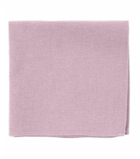 Růžový kapesníček do saka Blush Pink