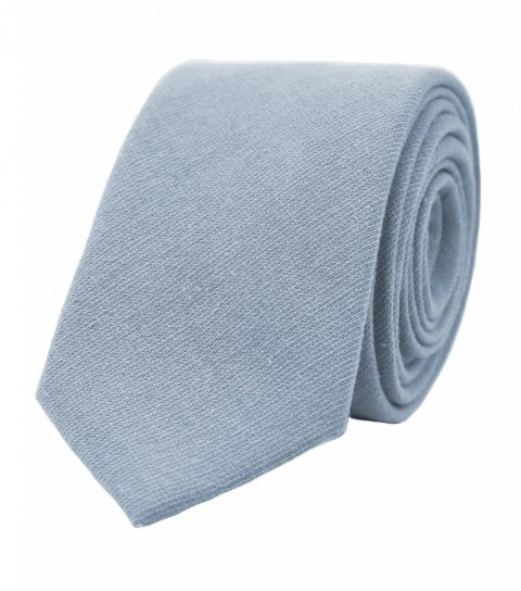 Modrá kravata Dusty Blue