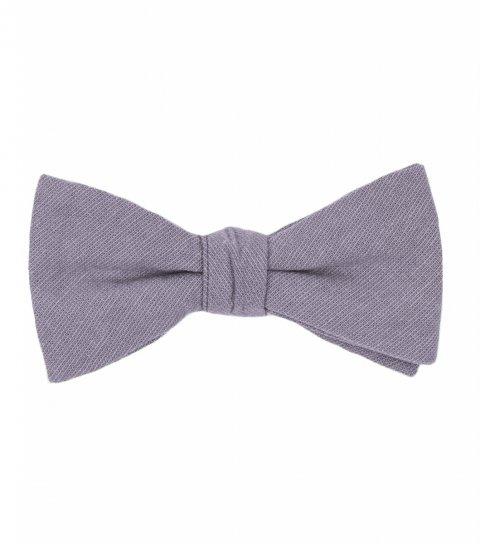 Solid Mauve bow tie