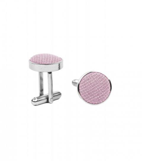 Ružové manžetové gombíky Blush Pink