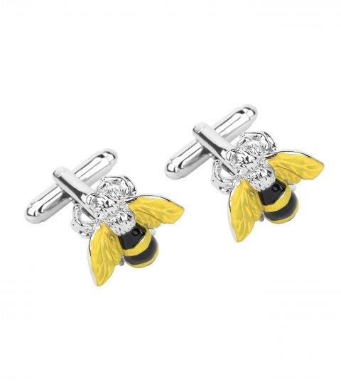 Manžetové knoflíčky včela